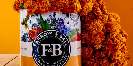 An Afternoon of Colour with Farrow & Ball tickets