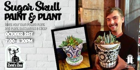 Sugar Skull Paint & Plant at Devil's Den tickets