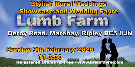 The Lumb Farm Countryside Wedding Fayre tickets