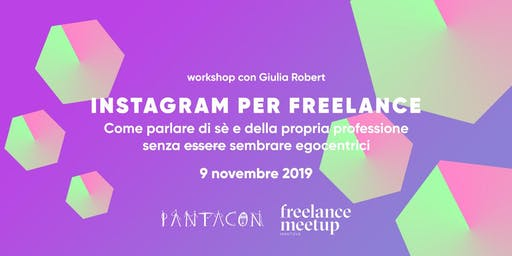 Instagram per freelance  - workshop