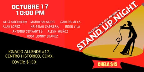 Stand up nights tickets