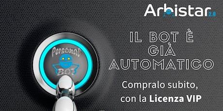 Presentazione Robot di Trading Automatico biglietti