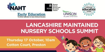 Lancashire Maintained Nursery Schools Summit and Lobby
