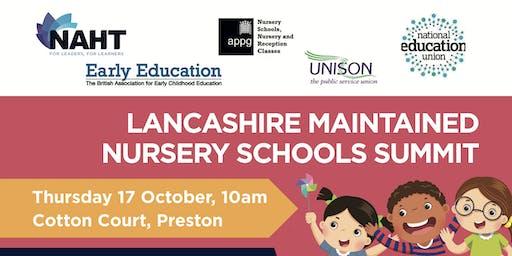 Lancashire Maintained Nursery Schools Summit and Lobby