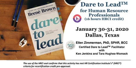 Dare to Lead Training for Human Resource Professionals - Dallas, Texas tickets