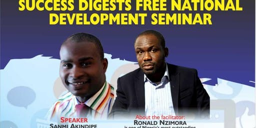 Sucess Digest Monthly Giving Back To Society Wealth Empowerment Seminar