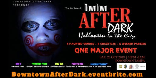 Vendor & Sponsors Opportunity for Downtown After Dark: Halloween in the City