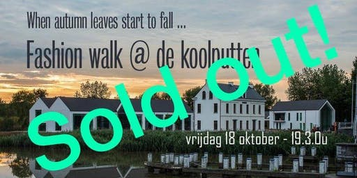 Fashion walk @ De Koolputten