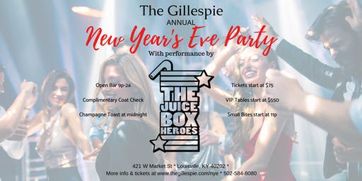 The Gillespie NYE Party