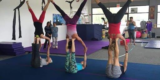 Acro Yoga Workshops in Ely for KIDS