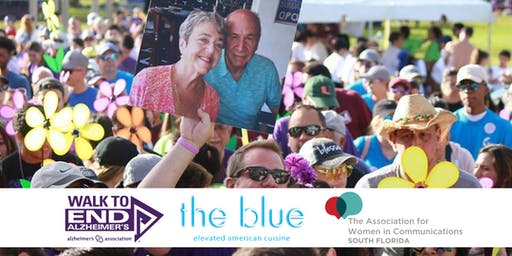 Women in Communications October MeetUp Honoring Walk to End Alzheimer's Boca Raton
