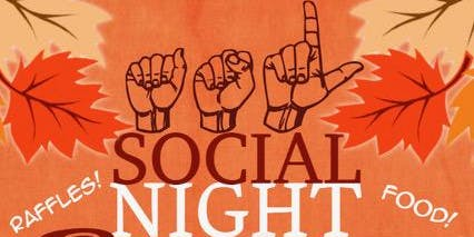 ASL Social Night-Deaf Women's Group Fundraising Event!