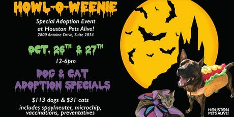 Howl-o-weenie Special Adoption Event at HPA! tickets