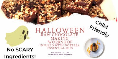 Halloween Raw Chocolate Making Workshop with doTERRA Essential Oils