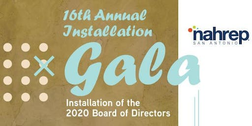 NAHREP San Antonio: 16th Annual Installation Gala