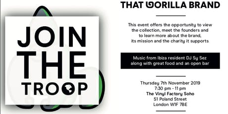 The Official Launch of That Gorilla Brand tickets
