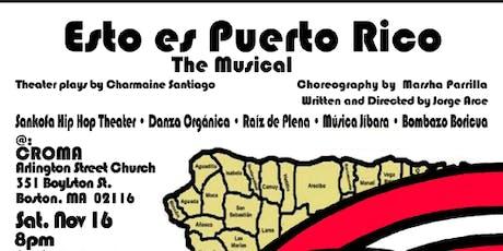 Esto es Puerto Rico: The Musical tickets