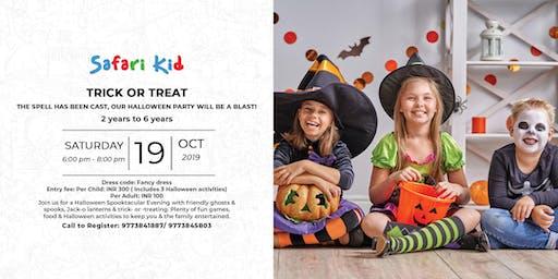 Halloween Party- Safari Kid Phase IV