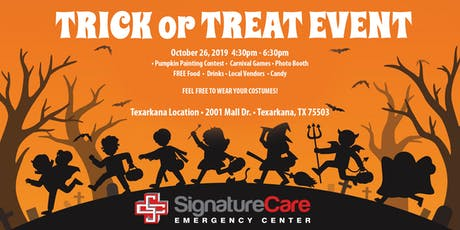 Trick or Treat with SignatureCare! tickets