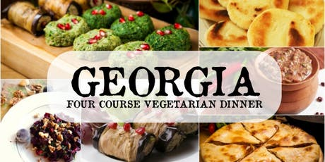 Georgian Vegetarian Dinner tickets