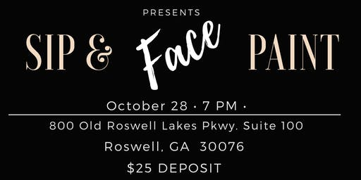 Sip and Face Paint