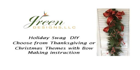 DIY Swag - You choose  Autumn or Christmas! tickets