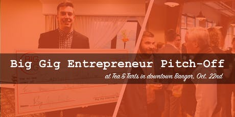 Big Gig Entrepreneur Pitch-Off at Tea & Tarts tickets