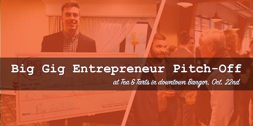 Big Gig Entrepreneur Pitch-Off at Tea & Tarts