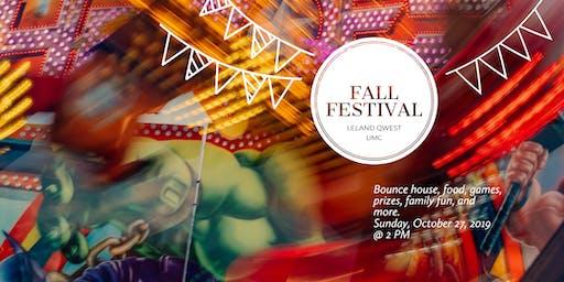 Leland Qwest UMC Annual Fall Festival