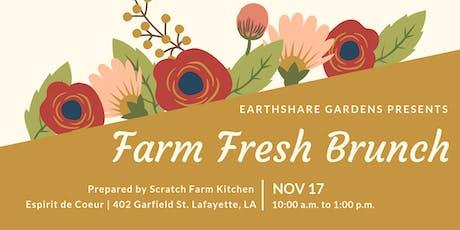 Earthshare Gardens Farm Fresh Brunch tickets