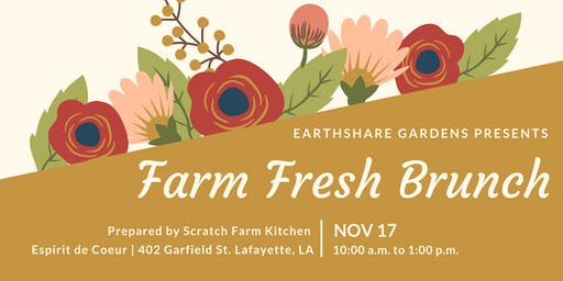 Earthshare Gardens Farm Fresh Brunch