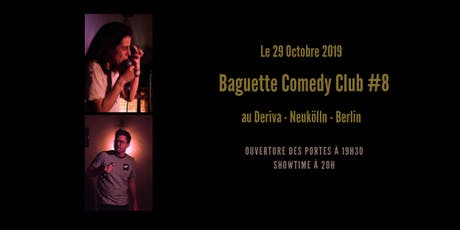 Baguette Comedy Club #8 tickets