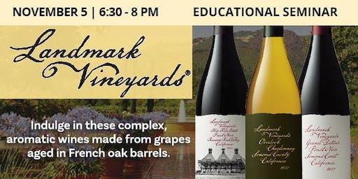 Educational Seminar: Landmark Vineyards