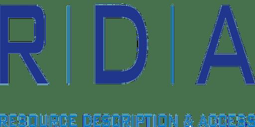 RDA Orientation Workshop