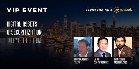 BlockchainX & TAP NETWORK VIP SF Blockchain Week tickets