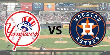 MLB Playoffs - Yankees vs Astros tickets