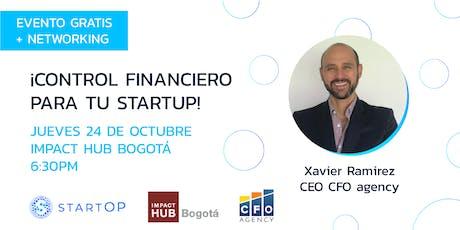 ¡Control financiero para tu StartUp! entradas