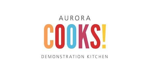 Next Level Sandwiches  at Aurora Cooks! 5:30 pm