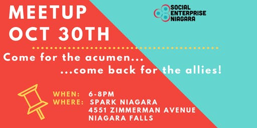 Oct 2019 Social Enterprise Niagara / Changemakers Meetup