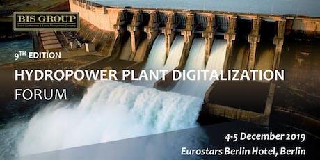 Hydropower Plant Digitalization Forum (9th Edition) billets