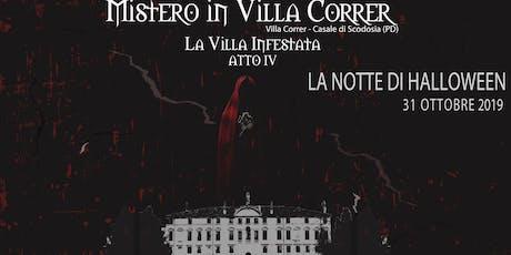 Mistero in Villa Correr |LA NOTTE DI HALLOWEEN (CENA) biglietti