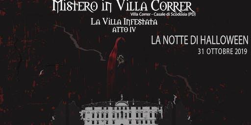 Mistero in Villa Correr |LA NOTTE DI HALLOWEEN (CENA)