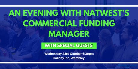 An Evening With NatWest's Commercial Funding Manager tickets