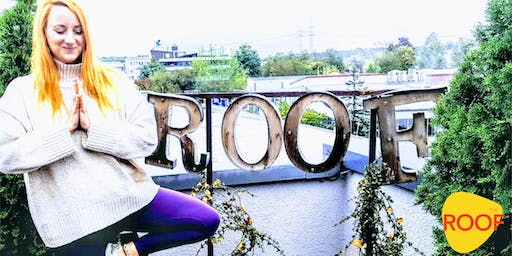 After Work Yoga @THE ROOF | Manifestiere Deine Ziele