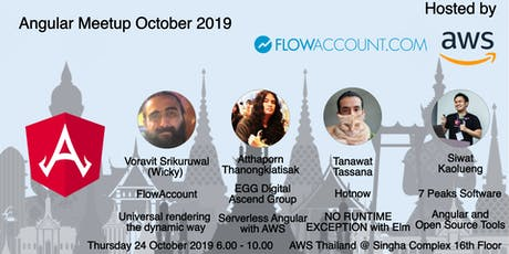 Angular Meetup October 2019 tickets