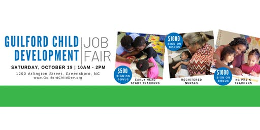 Guilford Child Development Job Fair