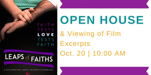"IFFP Open House & ""Leaps of Faiths"" Film Excerpt Viewing"