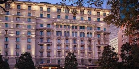 Aperitivo allo splendido Hotel Principe di Savoia biglietti