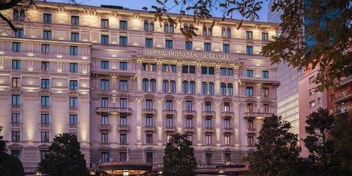 Aperitivo allo splendido Hotel Principe di Savoia