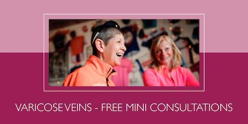 Free mini consultations for varicose veins